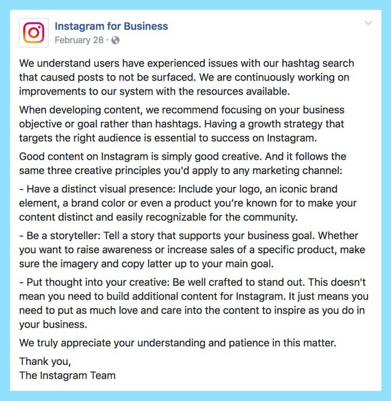 remove instagram shadowban