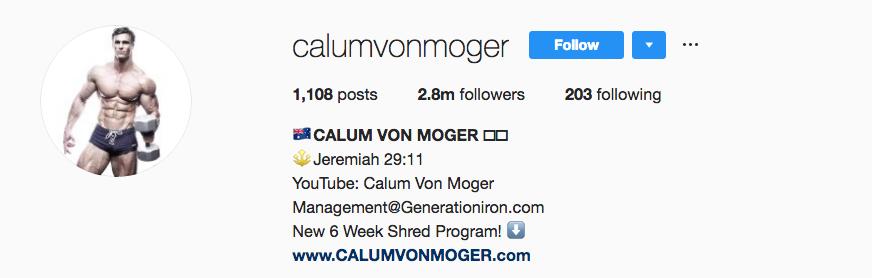 verified on instagram