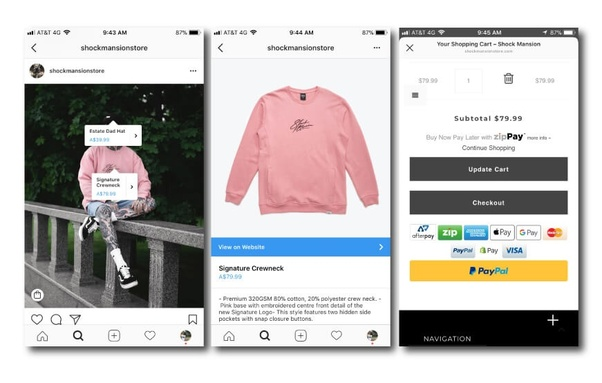 product tagging instagram stories